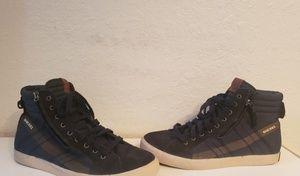 Mens Diesel High Top Fashion Sneaker 11